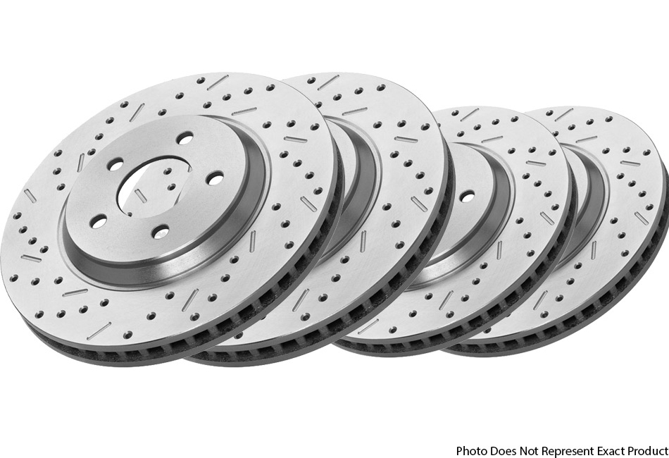 Steeda F-150 Complete Brake Rotor Kit - 6 Bolt - 10-13