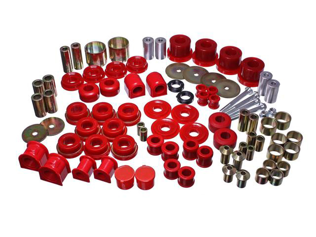 Energy Suspension Mustang Hyper-Flex Master Bushing Set Red (2015-2021)