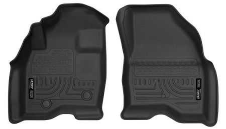 Husky Liners Ford Explorer WeatherBeater Black Front Floor Liners (2015-2017)