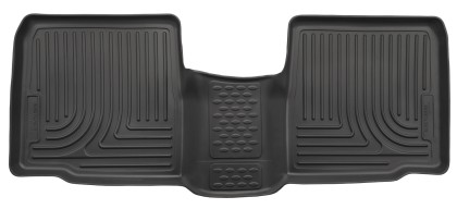 Husky Liners Ford Explorer WeatherBeater 2nd Row Black Floor Liner (2015-2019)