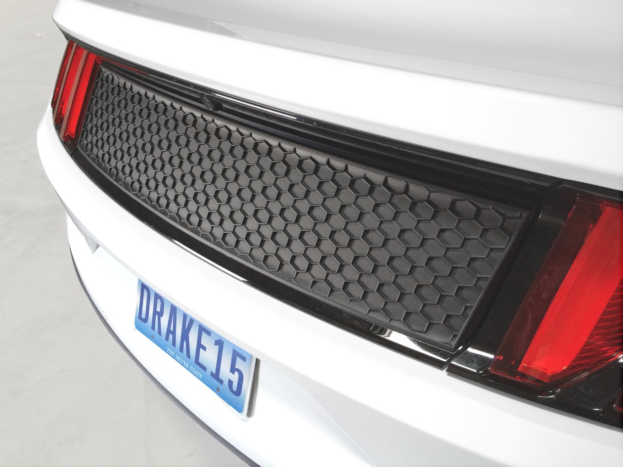 Scott Drake Mustang Deck Lid Panel California Matte Black (2015-2020)