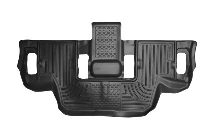 Husky Liners Ford Explorer WeatherBeater 3rd Row Black Floor Liners (2011-2019)