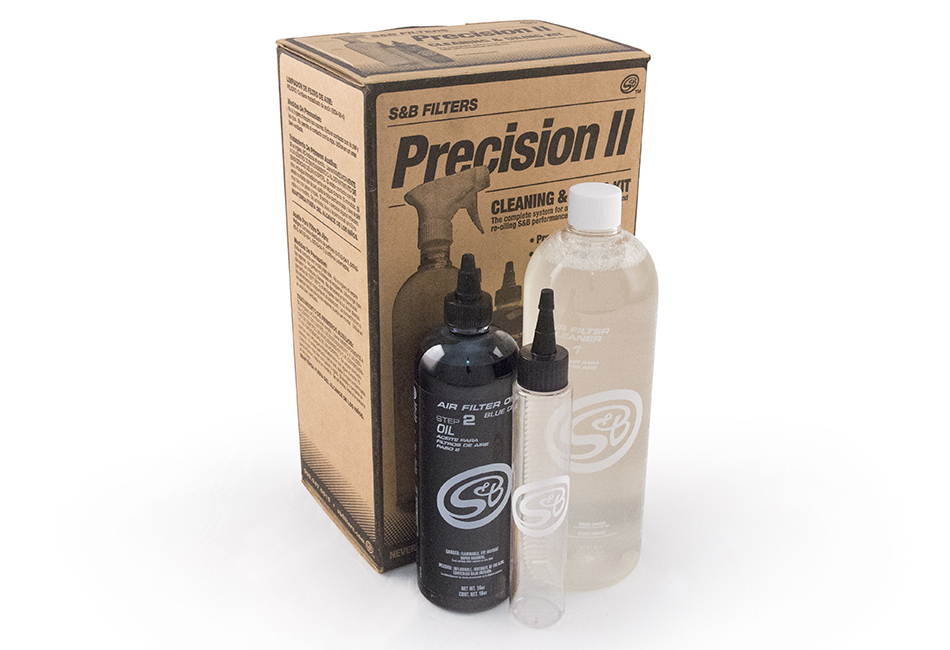 Precision Mustang Air Filter Cleaning Kit - Red Oil