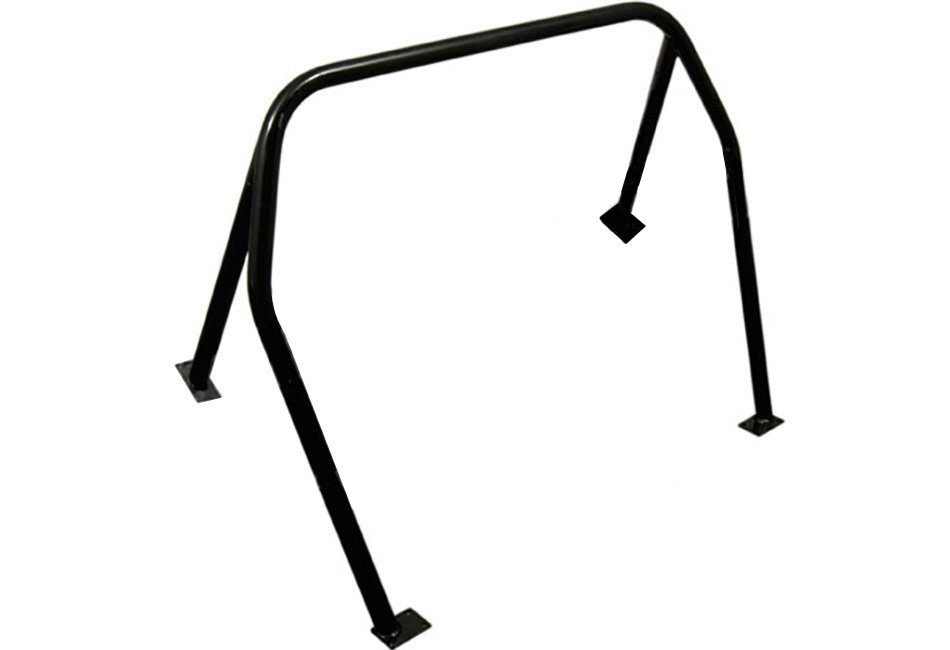 Kirk Racing Mustang 4-Point Bolt-In Roll Bar - Coupe (99-04)