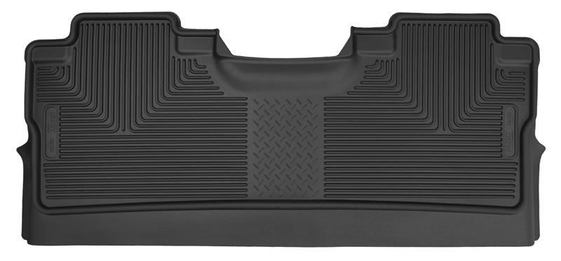 Husky Liners F-150 X-Act Contour Black 2nd Seat Floor Liners - SuperCrew Cab (2015-2021)