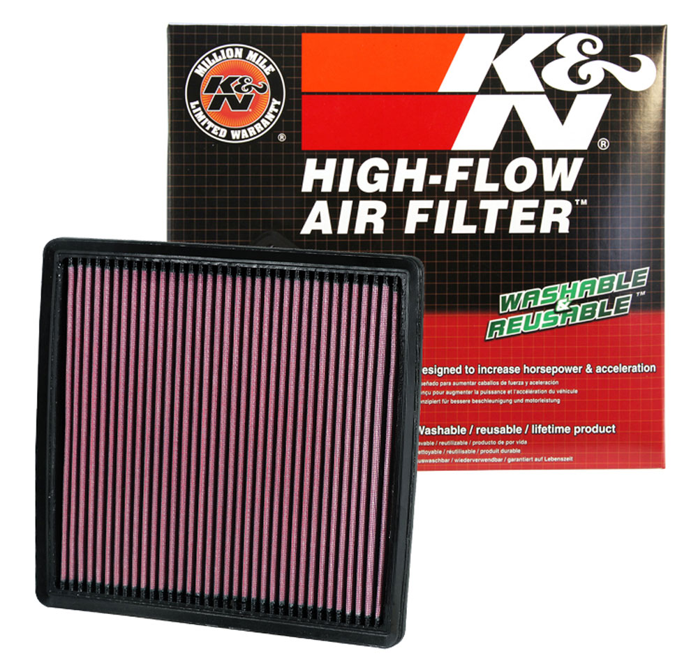 Fits Ford Explorer 2002-2005 K/&N Performance High Flow Replacement Air Filter
