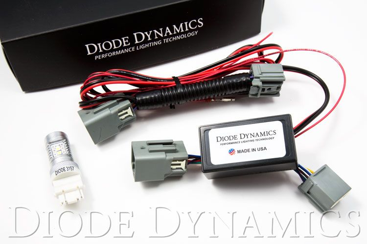 Diode Dynamics Mustang 4th Brake Light Red/White (2015-2021)
