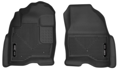 Husky Liners Ford Explorer X-Act Contour Black Floor Liners (2015-2019)