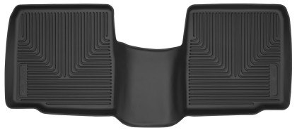 Husky Liners Ford Explorer X-Act Contour Black 2nd Seat Floor Liners (2015-2019)
