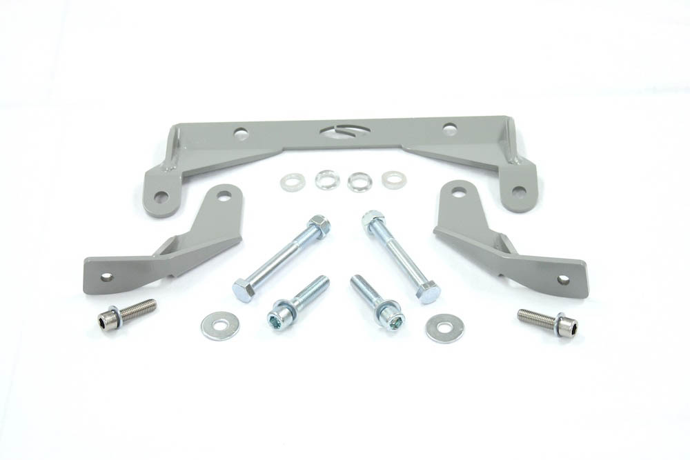 Steeda Hardcore S550 Mustang IRS Differential Support Brackets (2015-2020)