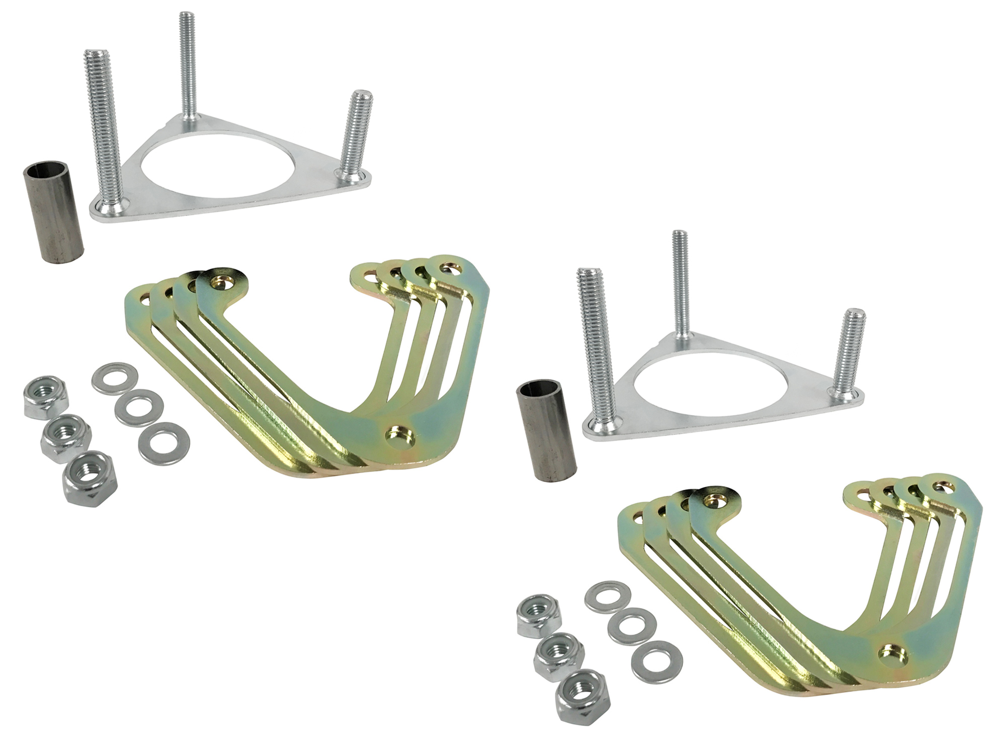 Steeda S550 Mustang Front Ride Height Spacer Kit (15-18)