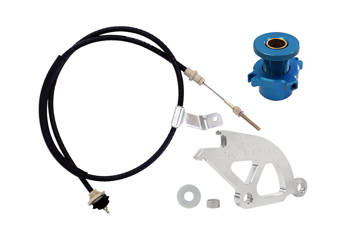 Steeda Mustang Adjustable Clutch Cable Kit (1996-2004)
