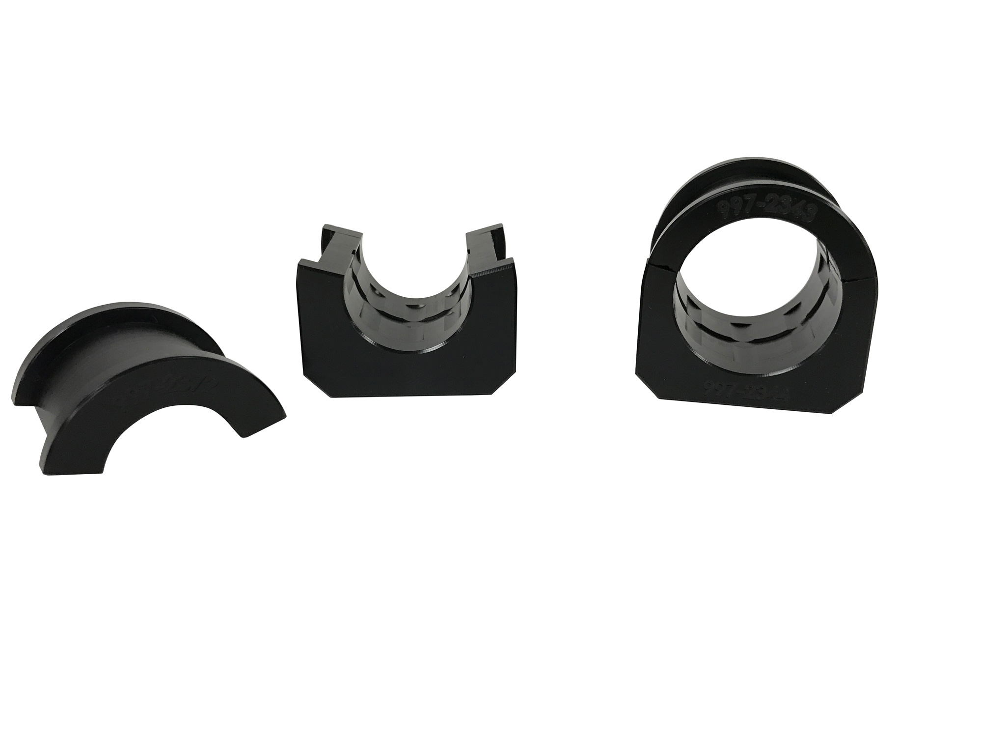 Steeda Delrin Front Sway bar Bushings for 1-3/8