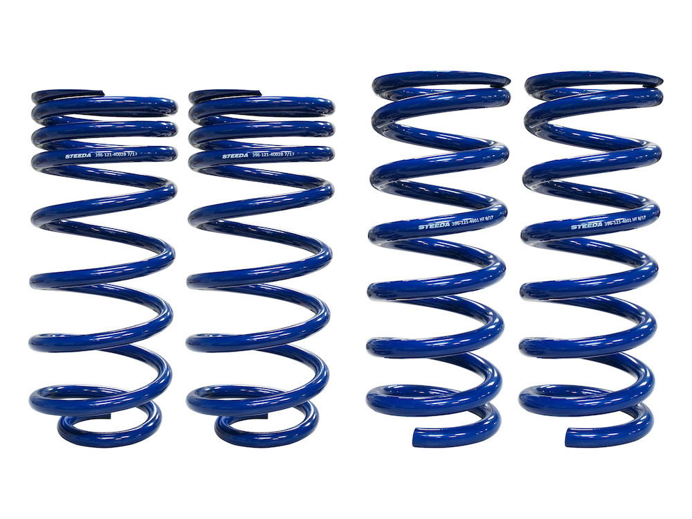 Steeda Competition Mustang Lowering Springs - Full Set (79-04 GT & V6)