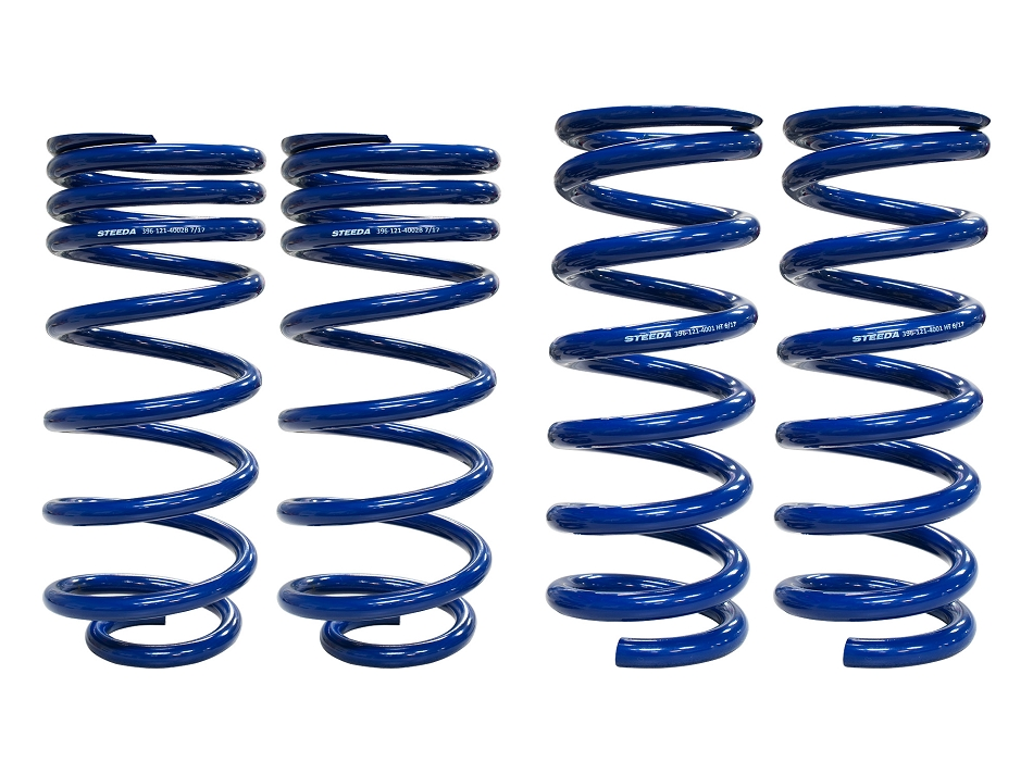 Steeda Mustang GT/V6 Competition Lowering Springs - Full Set (1979-2004)