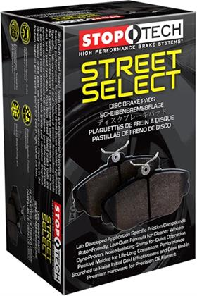 StopTech Select Fusion Front Brake Pads (2013-2018)