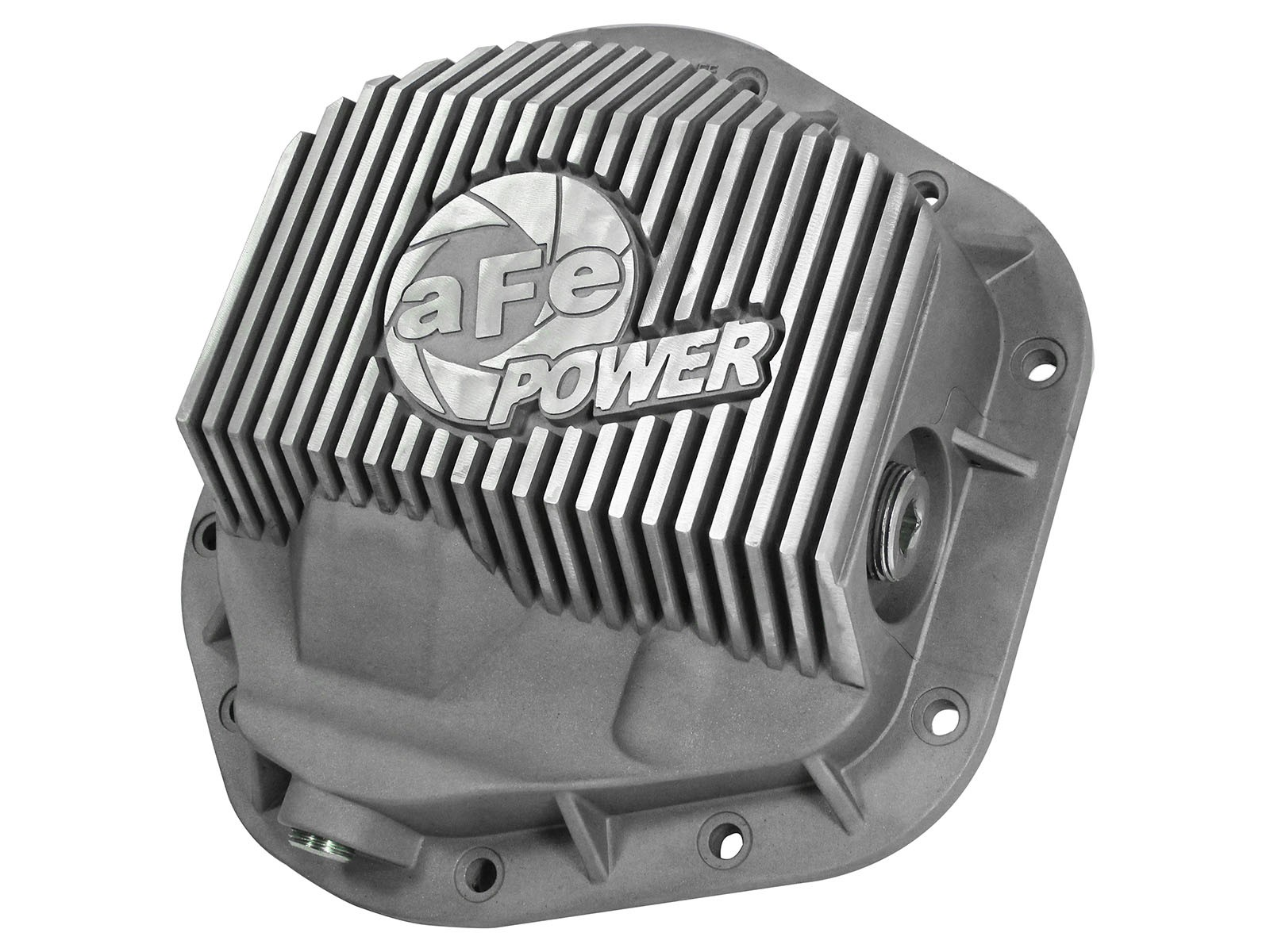 aFe Power Street Series Front Differential Cover Dana 50/60/ 61- Raw Finish (99-16 F-250/F-350)