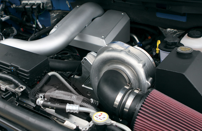 Procharger High Output Intercooled System with P-1SC-1 Supercharger for F150 5.4L (2009-2010)