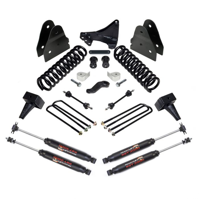 ReadyLIFT Suspension F-250/F-350 4WD With 2 Piece Drive Shaft 6.5in Lift Kit and SST3000 Shocks (2017-2019)