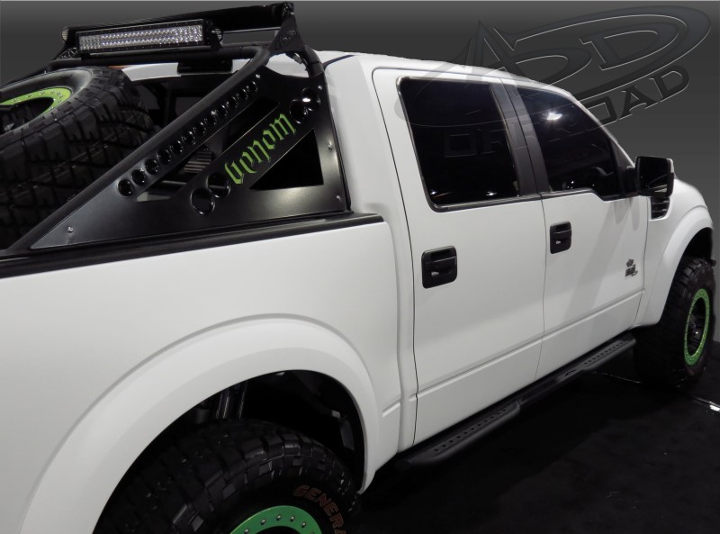 Addictive Desert Designs F-150 Raptor Venom Side Steps (4DR) (2009-2014)