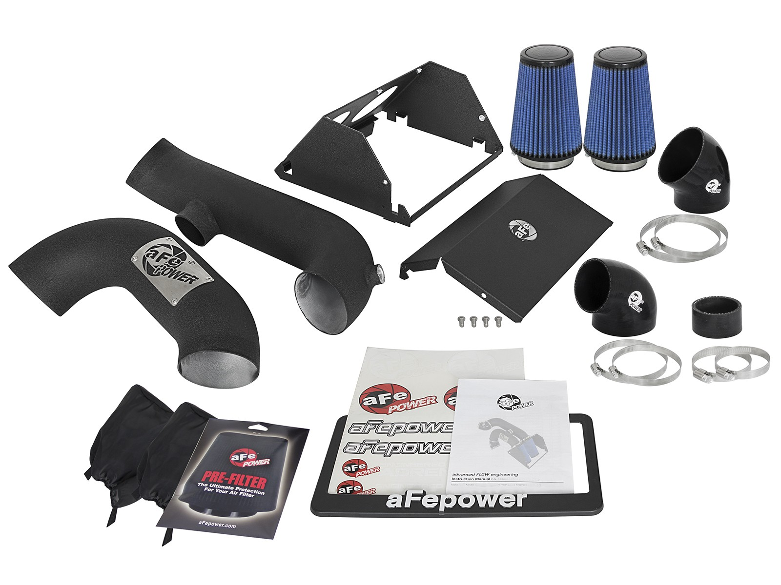 aFe Magnum FORCE Stage 2 Pro 5R Cold Air Intake Raptor (2017-2019)