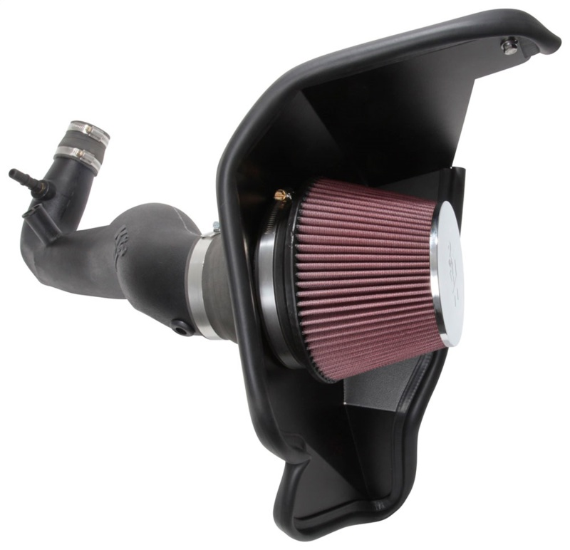 K&N Mustang 2.3L EcoBoost F/I Aircharger Cold Air Intake (2018-2021)