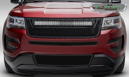T-Rex Ford Explorer Stealth Torch Series - Replacement - Main Grille with (1) 30