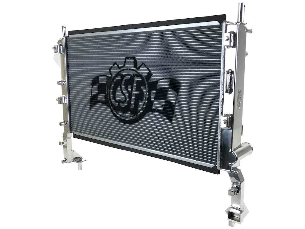 CSF Mustang EcoBoost High Performance Aluminum Radiator (2015-2021)