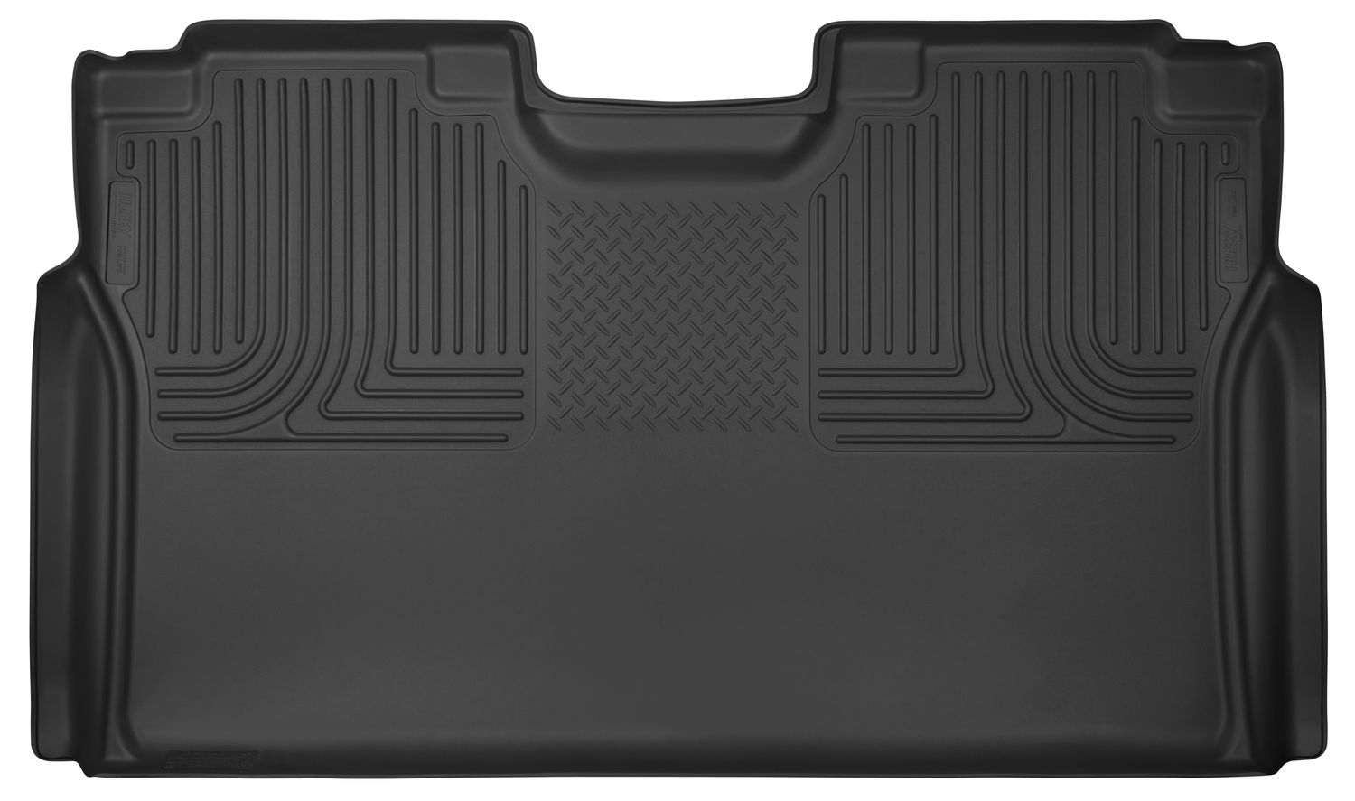 Husky Liners X Act Contour Black 2nd Seat Floor Liners