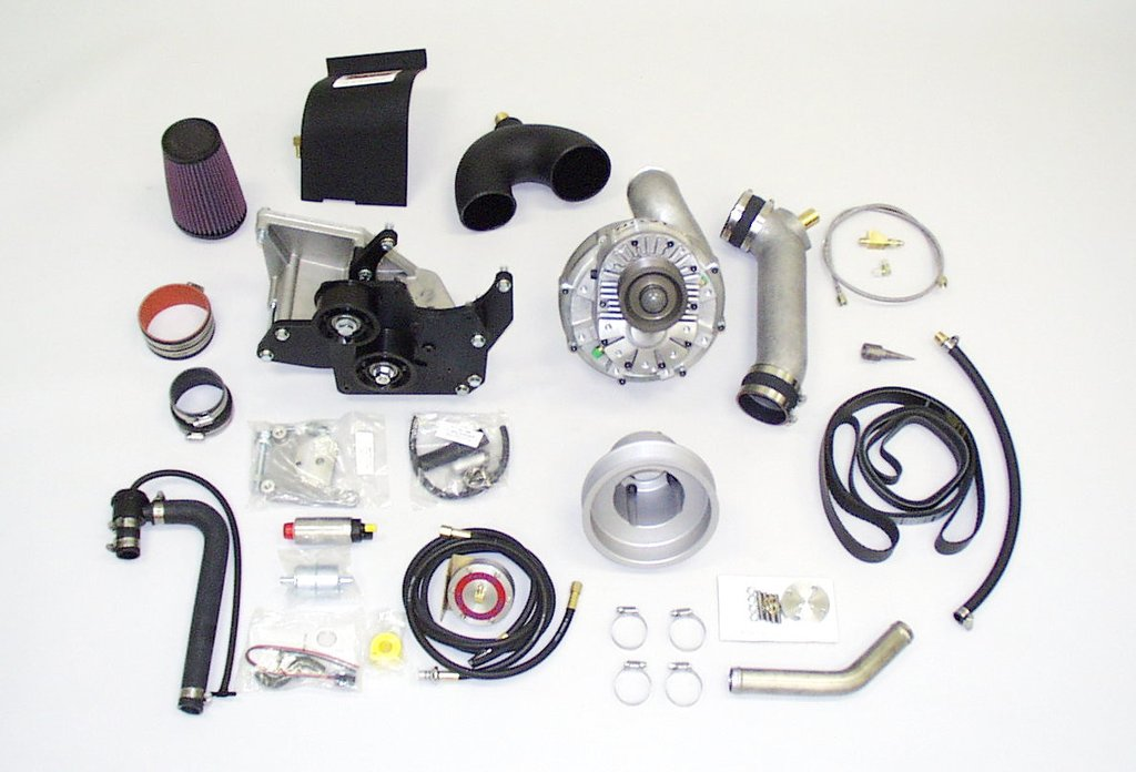 Paxton Novi 2000 Mustang Supercharger Kit (86-93 GT)