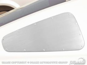 Drake Mustang Quarter Window Cover Pair Coupe (2005-2009)