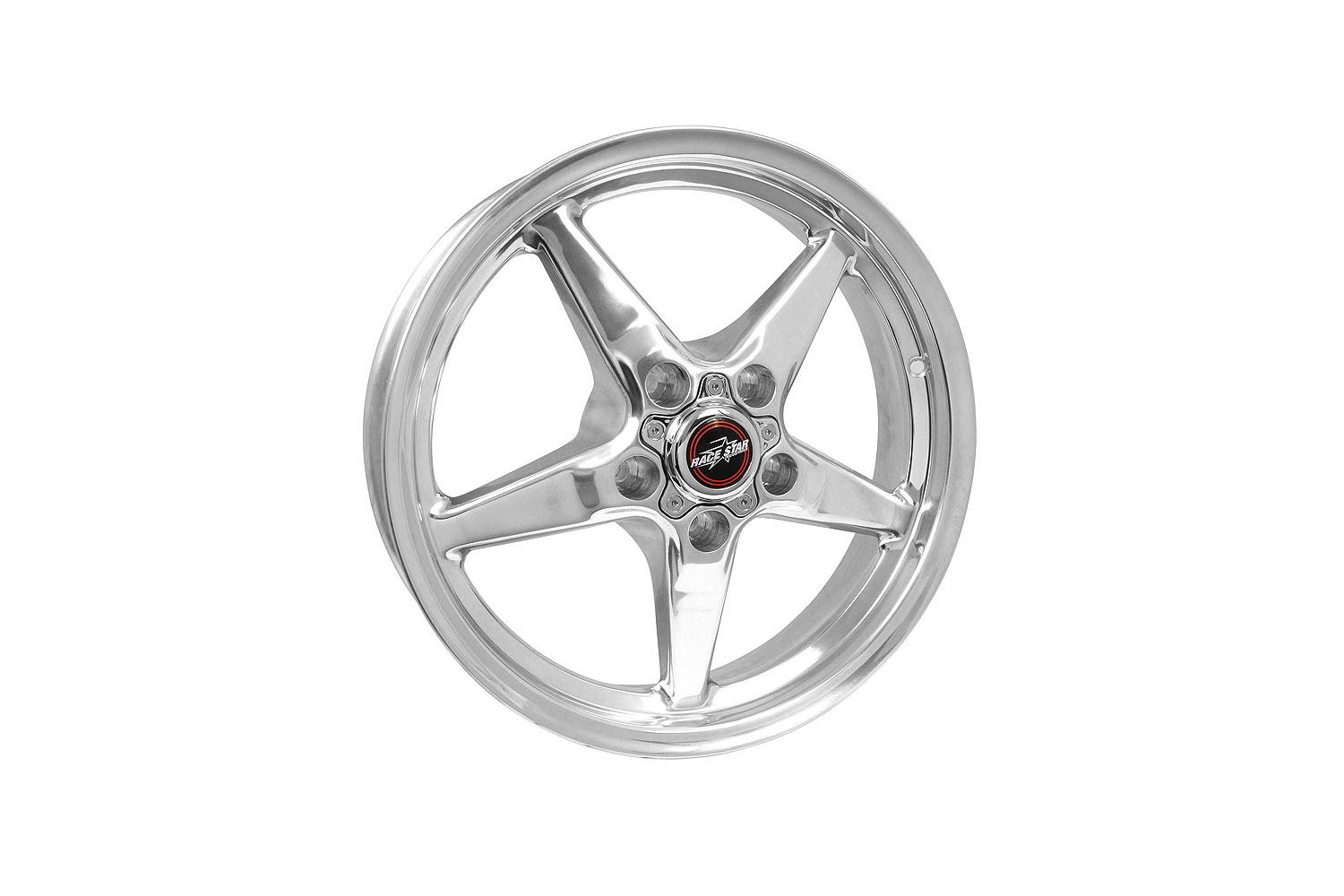 Race Star Mustang 92 Drag Star Polished Wheel - 17x4.5 (1979-2021)