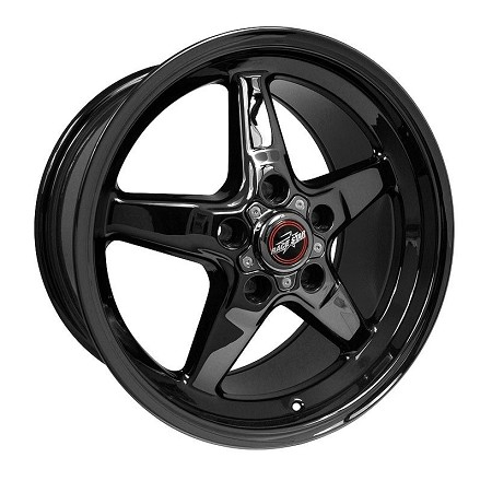 Race Star S197/S550 Mustang 17x9.5 Black Chrome 92 Drag Star (2005-2020)