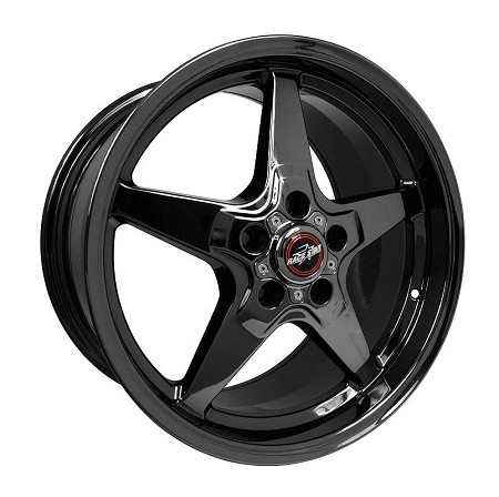 Race Star S197/S550 Mustang 18x10.5 black Chrome 92 Drag Star Wheel (2005-2020)