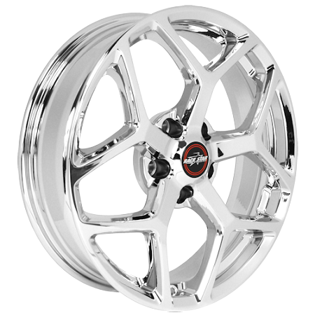 Race Star Mustang 95 Recluse Chrome Wheel - 18x10.5 (2005-2021)