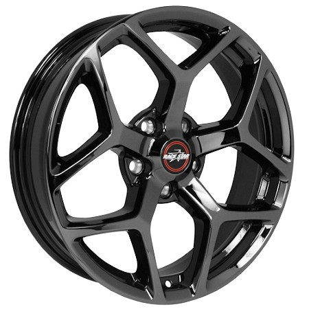 Race Star Mustang 95 Recluse Black Chrome Wheel - 18x8.5 (2005-2021)