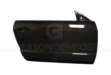 Anderson Composites Ford Mustang  OFF ROAD USE ONLY Carbon Fiber Doors (2005-2009)