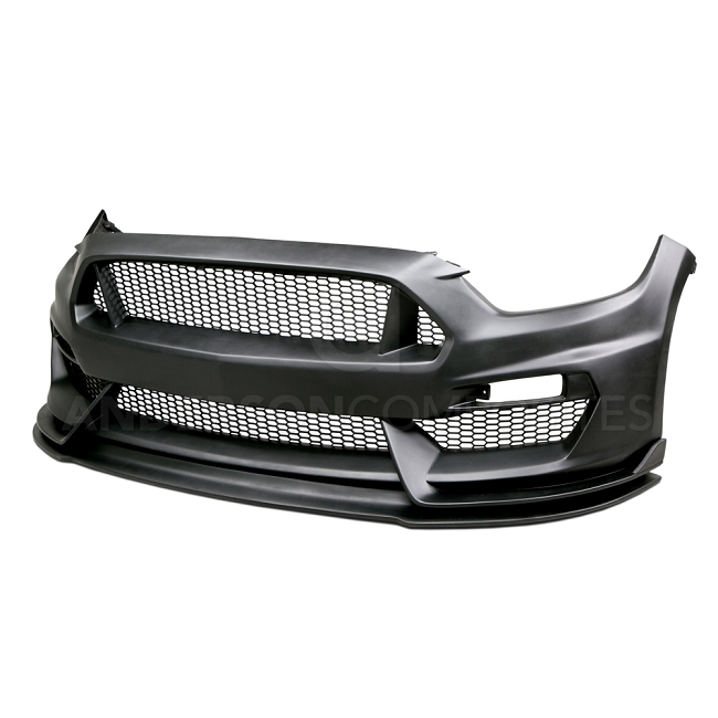 Anderson Composites Mustang Type-GR GT350 Style Fiberglass Front Bumper (2015-2017)