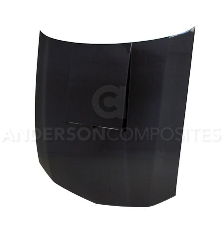 Anderson Composites Ford Mustang Type-SC Ram Air Carbon Fiber Hood (2005-2009)