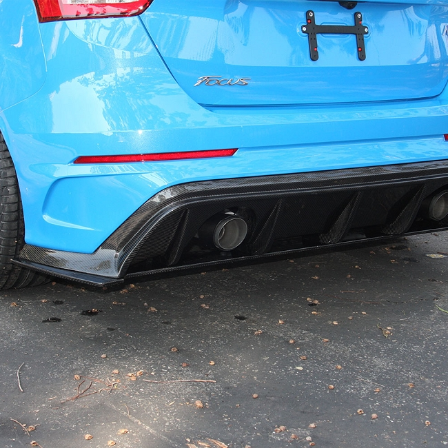 Anderson Composites Ford Focus RS Type-AR Carbon Fiber Rear Diffuser (2016-2018)