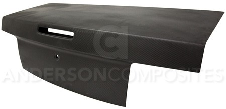 Anderson Composites  Ford Mustang Type-OE DRY CARBON Decklid (2005-2009)