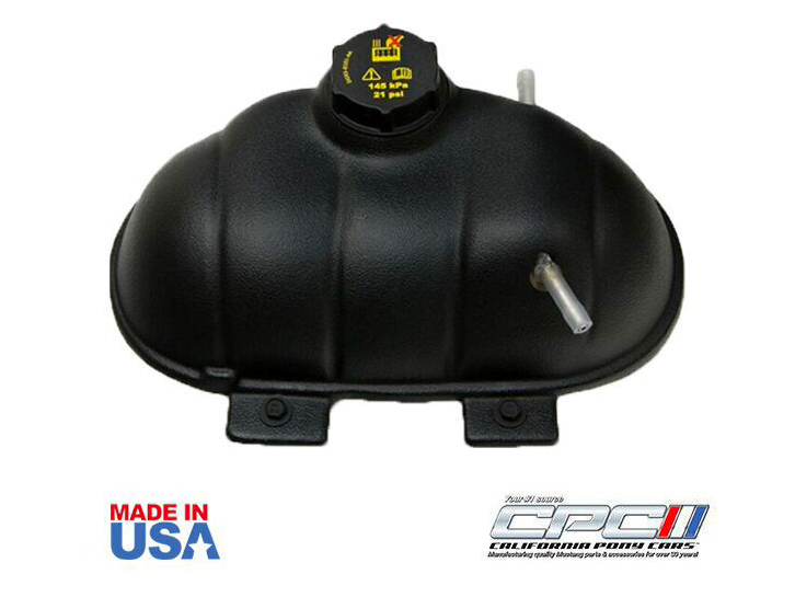 California Pony Cars Mustang Coolant Reservoir Tank Cover (2015-2021)