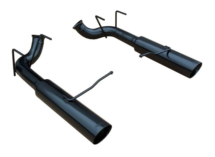 Pypes Mustang GT Pype-Bomb Axle-Back Exhaust Black (2011-2014)