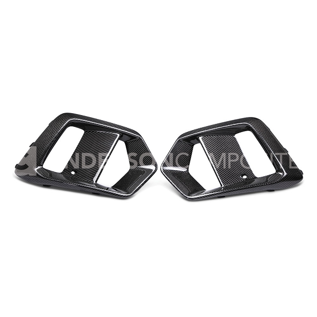 Anderson Composites Ford Focus RS Carbon Fiber Fog Light Surround (2016-2018)