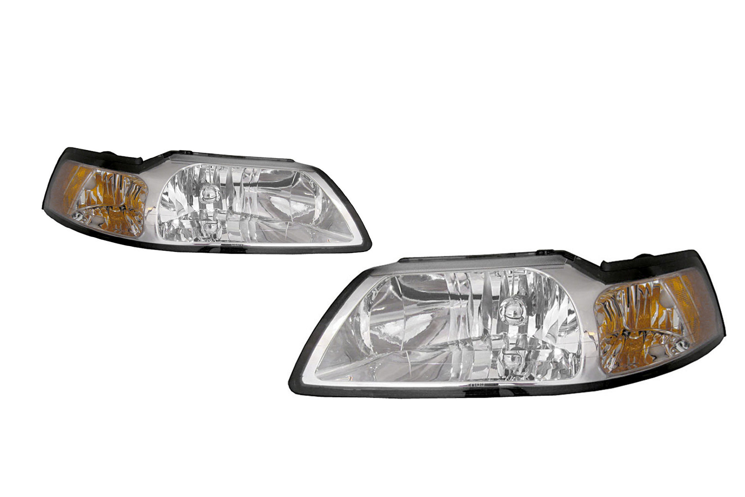 mustang headlight kit clear 99 04 fr264 b001px steeda mustang headlight kit clear 99 04 fr264 b001px steeda