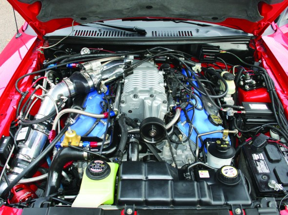 hellion power systems mustang twin turbo system  96