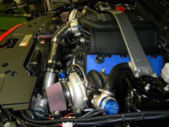 Hellion Power Systems Mustang GT and Boss 302 Twin Turbo System (11-14)