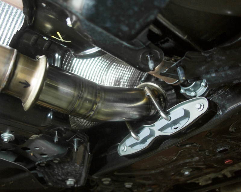 Focus RS Downpipes; Exhaust;