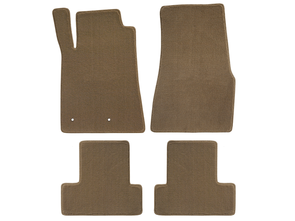 Lloyd Mats Mustang Parchment Floor Mats - Front & Rear (05-10 All)