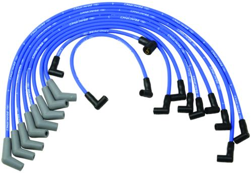 Ford Performance 9MM Spark Plug Wire Sets Blue Mustang 5.0L (1979-1995)